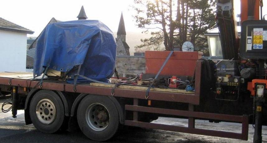 New Machinery for Heathergems Pitlochry