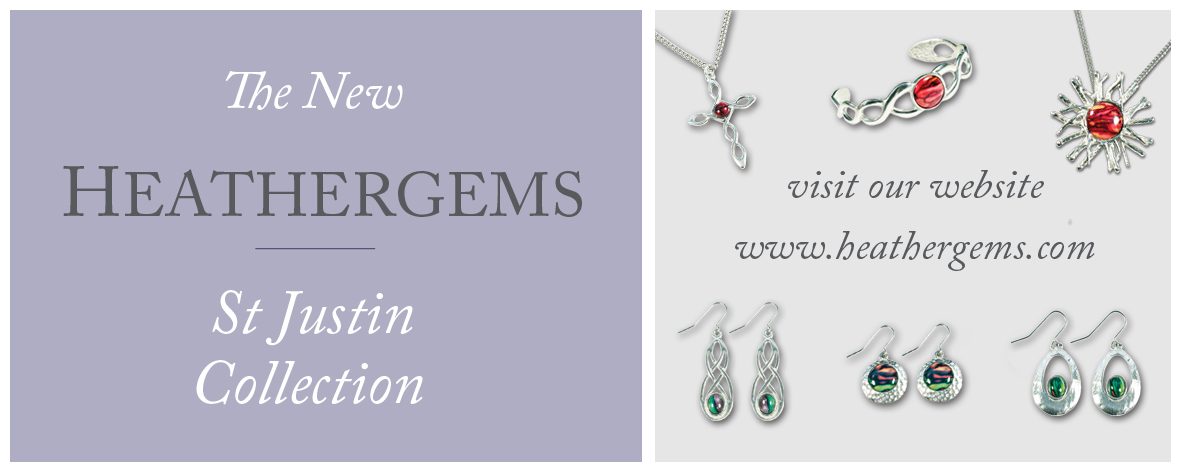 NEW Heathergems St Justin Pewter Collection available now...