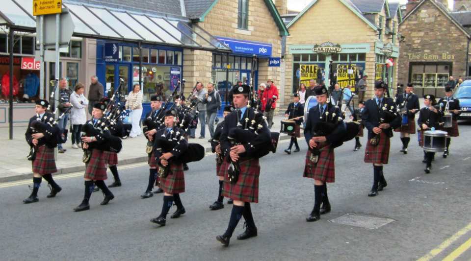 Pitlochry Highland Night Season 2012...