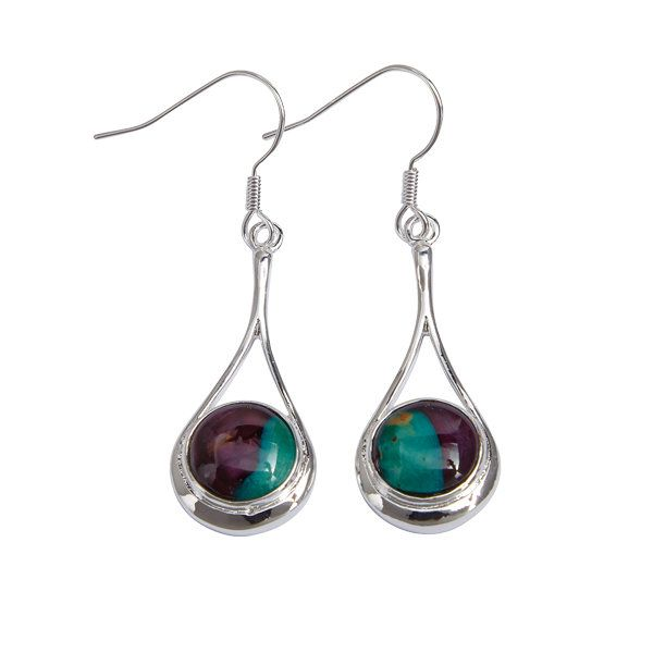 Braon Drop Earrings