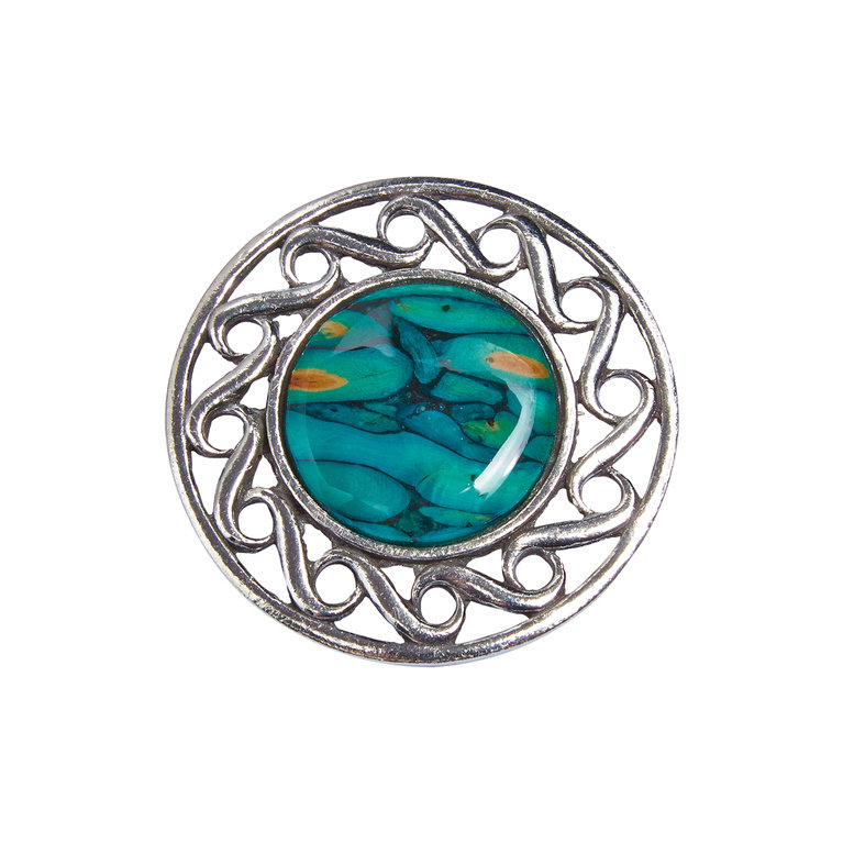 Celtic Swirl Brooch