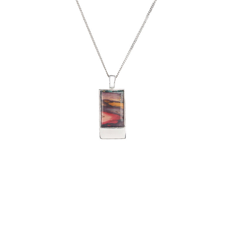 Skye Rectangle Pendant