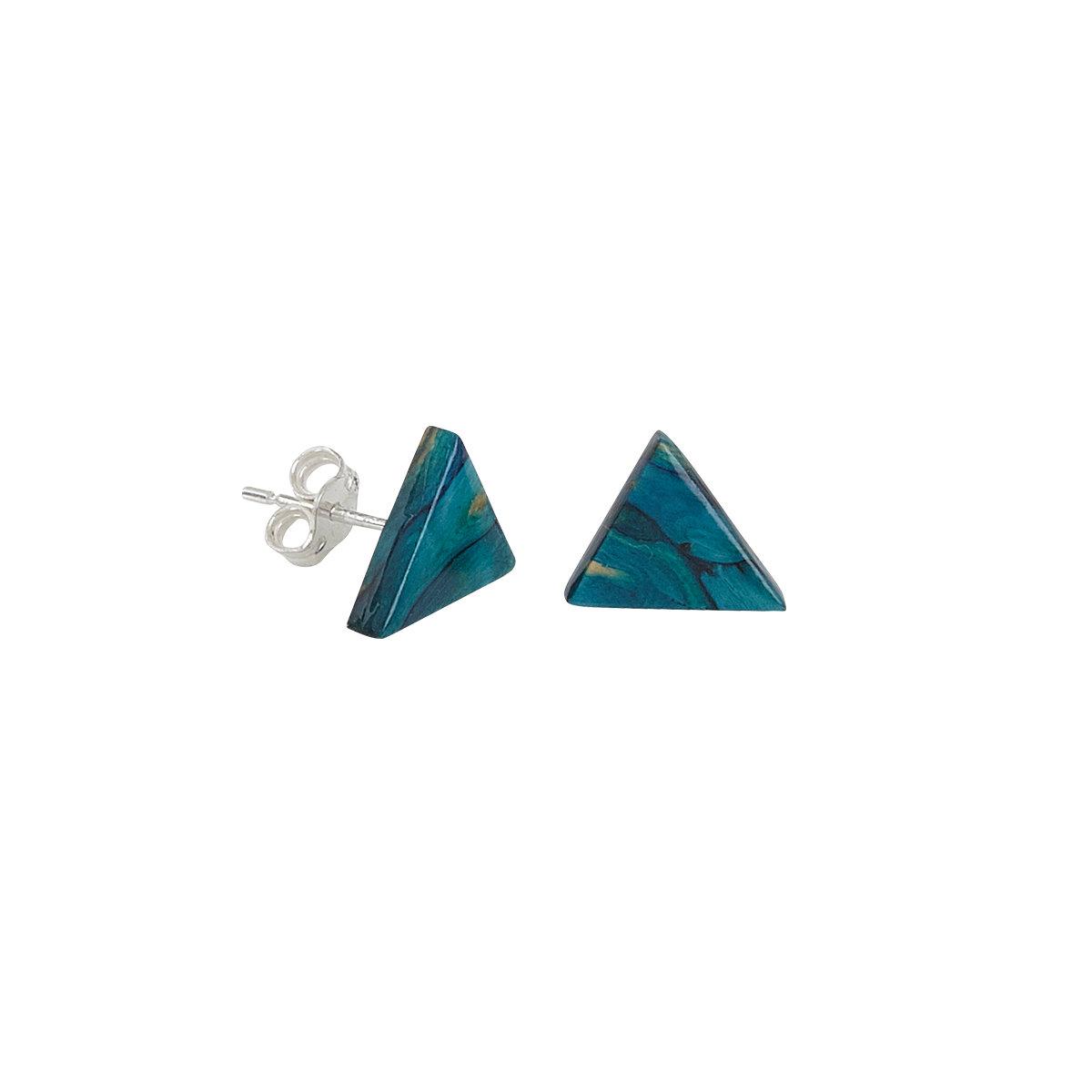 91f352c69 Triangle Stud Earrings - Earrings   Heathergems